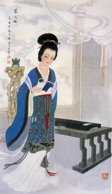 长风悲歌—蔡文姬纪念馆